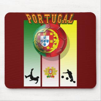 Arte e Futebol encontra - Futebol Portuês Mouse Pad