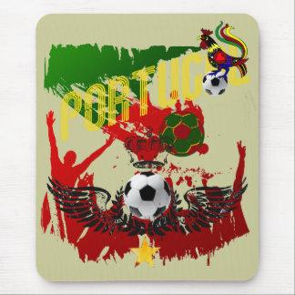 """Arte E Futebol Português - """"Portugal Allez"""" Mouse Pad"""