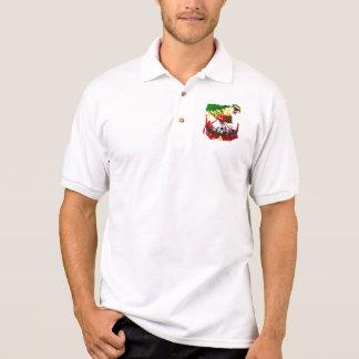 """Arte E Futebol Português - """"Portugal Allez"""" Polo Shirt"""