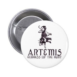 Artemis 6 Cm Round Badge