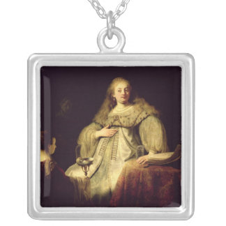 Artemisia, 1634 silver plated necklace