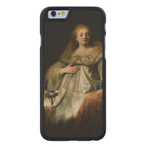 Artemisia by Rembrandt van Rijn Carved® Maple iPhone 6 Case