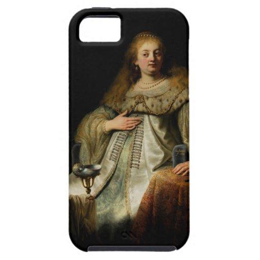 Artemisia by Rembrandt van Rijn iPhone 5 Cases