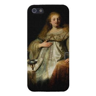 Artemisia by Rembrandt van Rijn iPhone 5 Covers