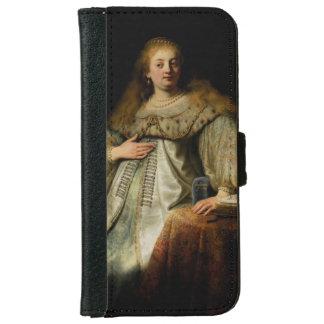 Artemisia by Rembrandt van Rijn iPhone 6 Wallet Case