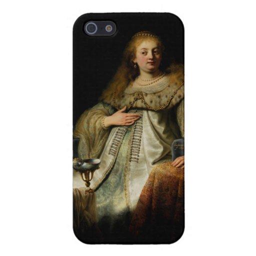 Artemisia by Rembrandt van Rijn iPhone 5/5S Case