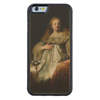 Artemisia by Rembrandt van Rijn Maple iPhone 6 Bumper Case