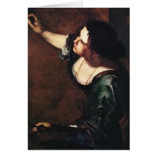 Artemisia Gentileschi Art Greeting Card