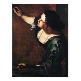 Artemisia Gentileschi Art Post Card