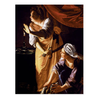 Artemisia Gentileschi Art Postcards
