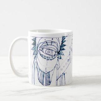 arteology sketches 1995 coffee mug
