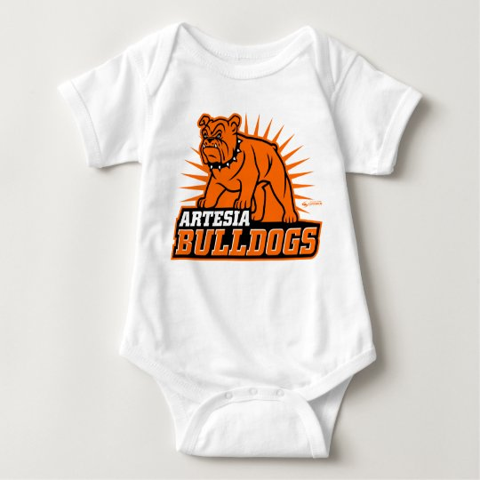 Artesia Bulldogs Infant Creeper