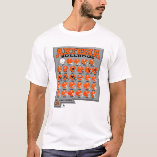 Artesia Bulldogs State Champs Helmet T-Shirt