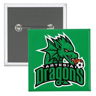 Artesia Dragons Logo Button