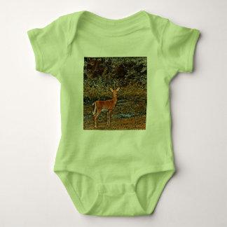 Artful Deer Baby Bodysuit
