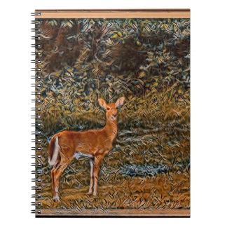 Artful Deer Notebook