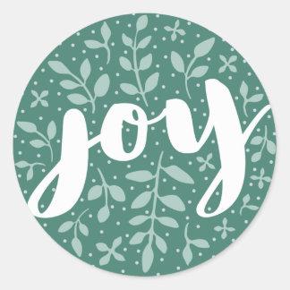 Artful Joy Holiday Sticker