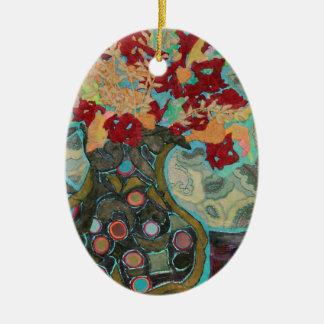 Artful Jug Ceramic Oval Decoration
