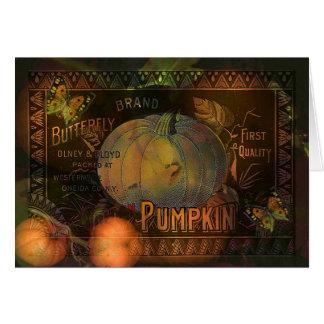 Artful Pumpkins Thanksgiving Greeting Cards