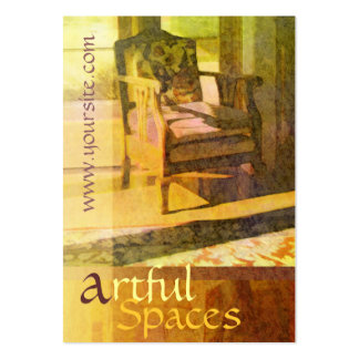 Artful Spaces Pack Of Chubby Business Cards
