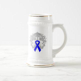 Arthritis Fight Like A Girl Fleurish Beer Steins