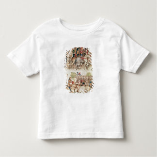 Arthur and his knights setting out on the toddler T-Shirt