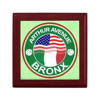 Arthur Ave Bronx Italian American Box Small Square Gift Box