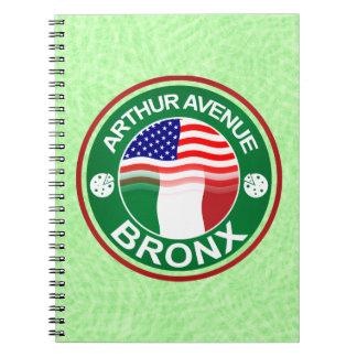 Arthur Ave Bronx Italian American Notepad Notebooks