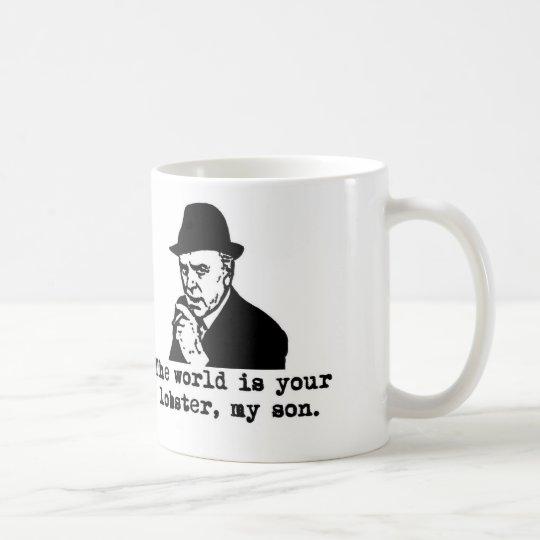 Arthur Daley The world is your lobster Mug