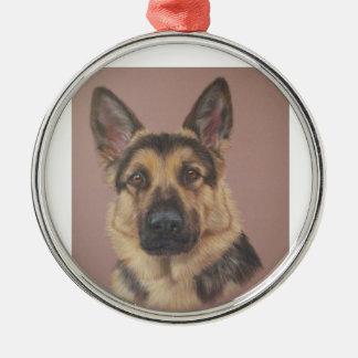 Arthur - German Shepherd Christmas Ornament
