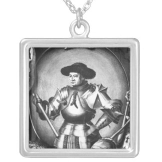 Arthur III  of Brittany Silver Plated Necklace