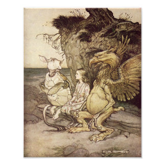 "Arthur Rackham 1907 ""That's Curious"" Print Photo"