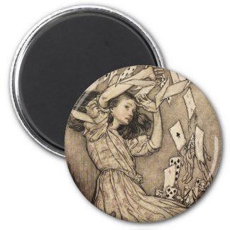 Arthur Rackham Alice In Wonderland Refrigerator Magnet