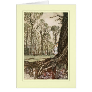 Arthur Rackham Greeting Card