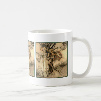 Arthur Rackham - Old Woman in the Wood Coffee Mug