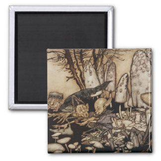 Arthur Rackham | Peter Pan in Kensington Gardens Magnet