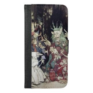 Arthur Rackham Trolls Witches Book Art iPhone 6/6s Plus Wallet Case