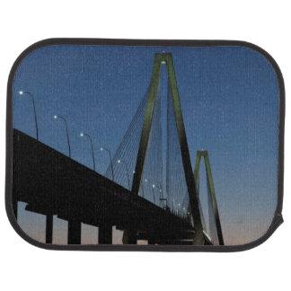 Arthur Ravenel Jr. Bridge at Dusk Car Mat