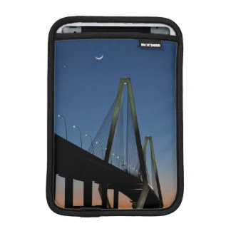 Arthur Ravenel Jr. Bridge at Dusk iPad Mini Sleeve