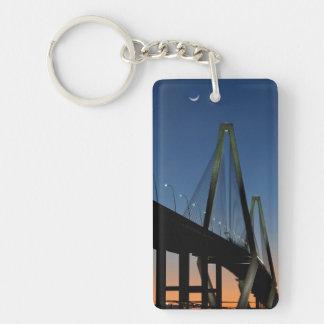 Arthur Ravenel Jr. Bridge at Dusk Key Ring