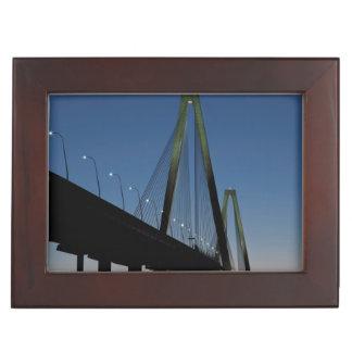 Arthur Ravenel Jr. Bridge at Dusk Memory Box