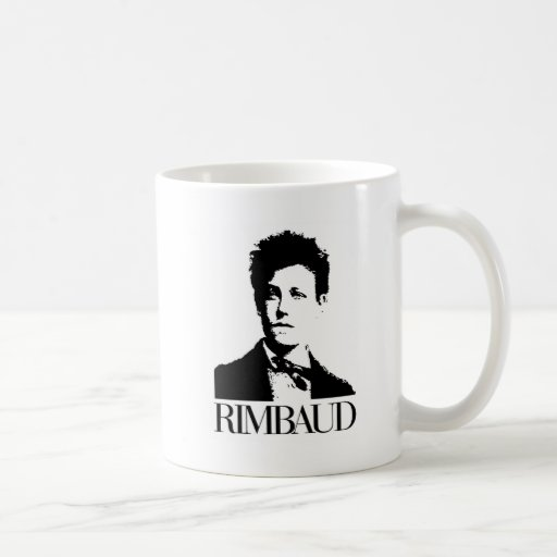Arthur Rimbaud Basic White Mug