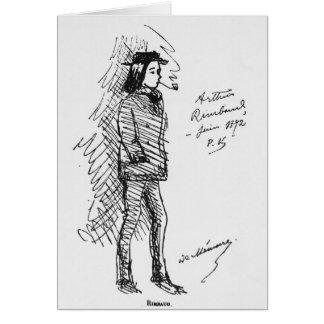 Arthur Rimbaud  June 1872 Card