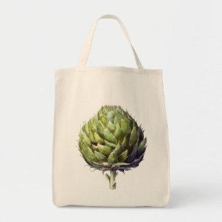 Arthur the artichoke tote bag