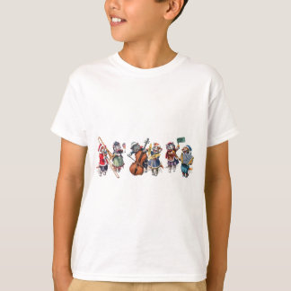 Arthur Thiele -  Cats Play Orchestra in the Snow. T-Shirt