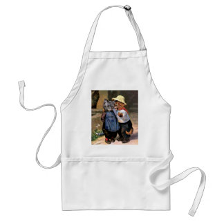 Arthur Thiele - Lovely Country Cats Adult Apron