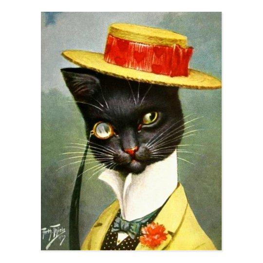 Arthur Thiele - Mr. Cat Postcard