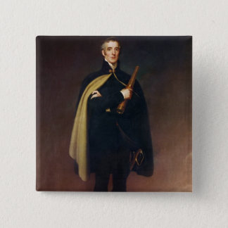 Arthur Wellesley  Duke of Wellington 15 Cm Square Badge