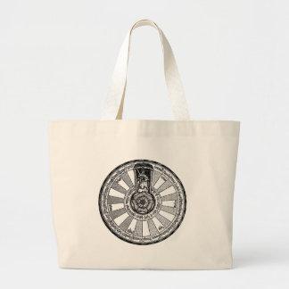 Arthur's round table jumbo tote bag