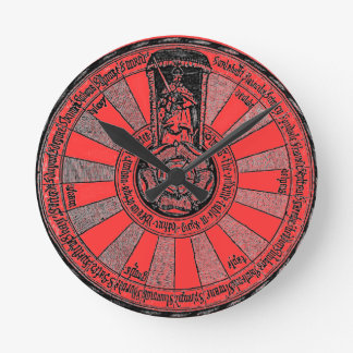 Arthur's round table round clock